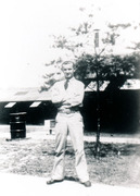 Chuck Cetera at Civilian Conservation Corps Camp Monticello