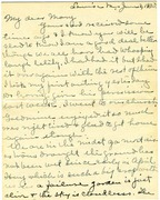 Letter from Cousin Annie to Mary