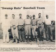 "Ferncliff ""Swamp Rats"" Baseball Team"