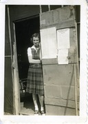 Photograph of Pauline Towsey, an Aircraft Warning Service Volunteer