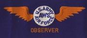 Aircraft Warning Service Armband